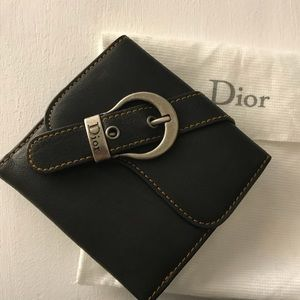 [Authentic] Dior Gaucho Square Wallet ✨